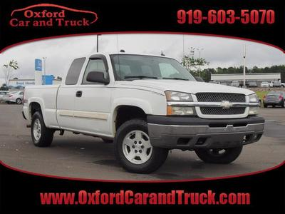 2004 Chevrolet Silverado 1500 Work Truck 4dr Extended C in Oxford