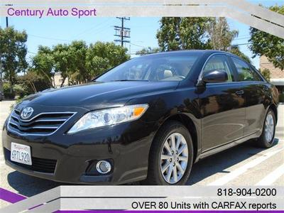 2011 Toyota Camry XLE V6, LOADED in Van Nuys