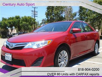 2014 Toyota Camry LE w/Rear Camera & Bluetooth in Van Nuys