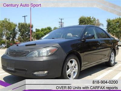 2004 Toyota Camry SE V6,Free Carfax in Van Nuys