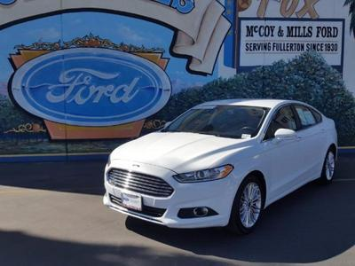 2016 Ford Fusion in Fullerton