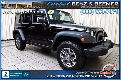 2015 Jeep Wrangler Unlimited in Scottsdale