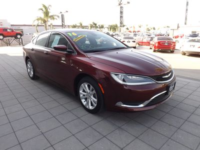 2016 Chrysler 200 in Bakersfield