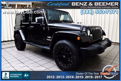 2012 Jeep Wrangler Unlimited in Scottsdale