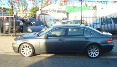2004 BMW 7 Series in North Hollywood