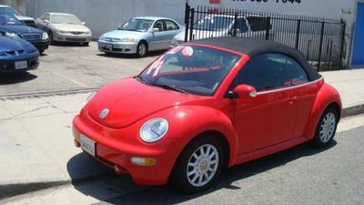 2004 Volkswagen New Beetle Convertible in North Hollywood
