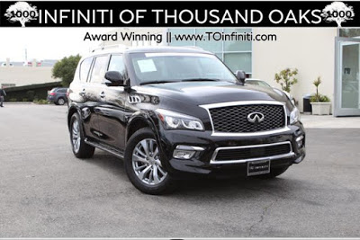 2017 INFINITI QX80 in Thousand Oaks